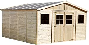 Abri de jardin bois 20 m² n°3