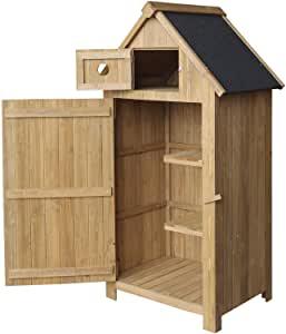Armoire de jardin bois n°1