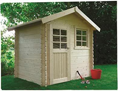 Abri de jardin bois traité n°1
