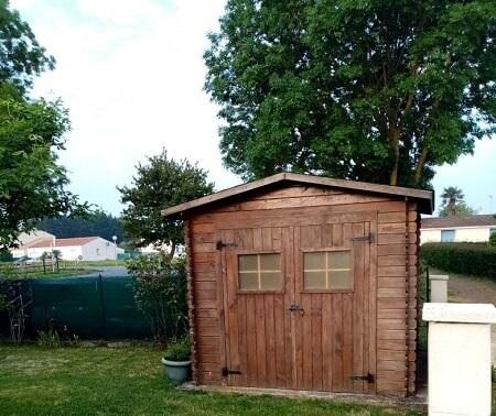 L'abri de jardin bois est idéal