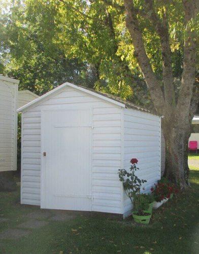 Que placer dans un petit abri de jardin bois 4m² ?